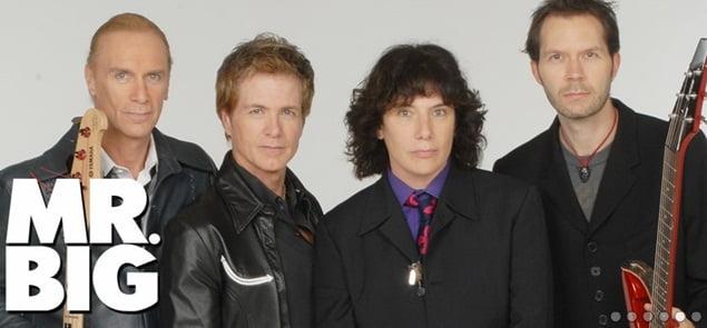 Mr. Big: banda se apresentará no Brasil em agosto e terá Geoff Tate como convidado especial em SP e BH