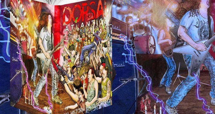 Dorsal Atlântica: banda terá pré-lançamento da HQ na Semana Internacional de Quadrinhos da UFRJ