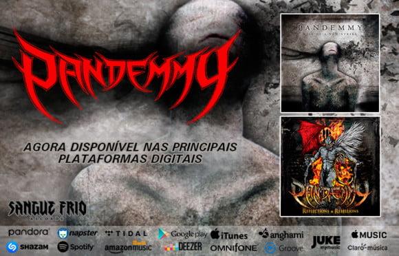 Pandemmy: álbuns oficiais disponíveis nas principais plataformas de streaming!