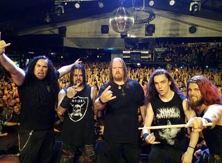 Vital Remains: banda toca na Clash Club em São Paulo na próxima quinta