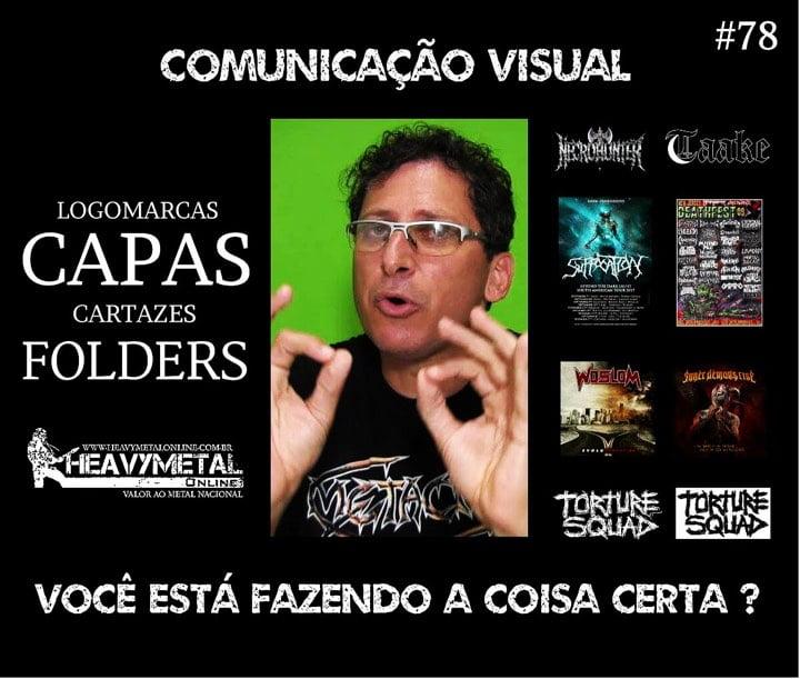Heavy Metal Online: Comunicação visual, você está fazendo a coisa certa?