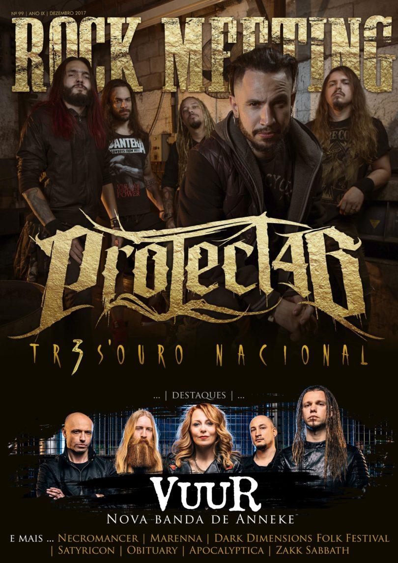 Project46 é destaque na capa da revista Rock Meeting