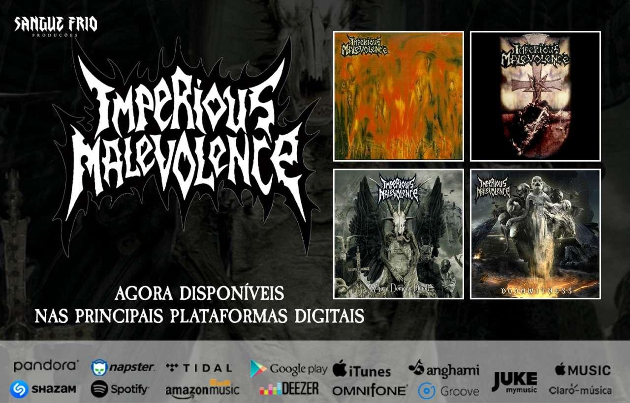 Imperious Malevolence: Principais álbuns já podem ser encontrados nas principais plataformas digitais