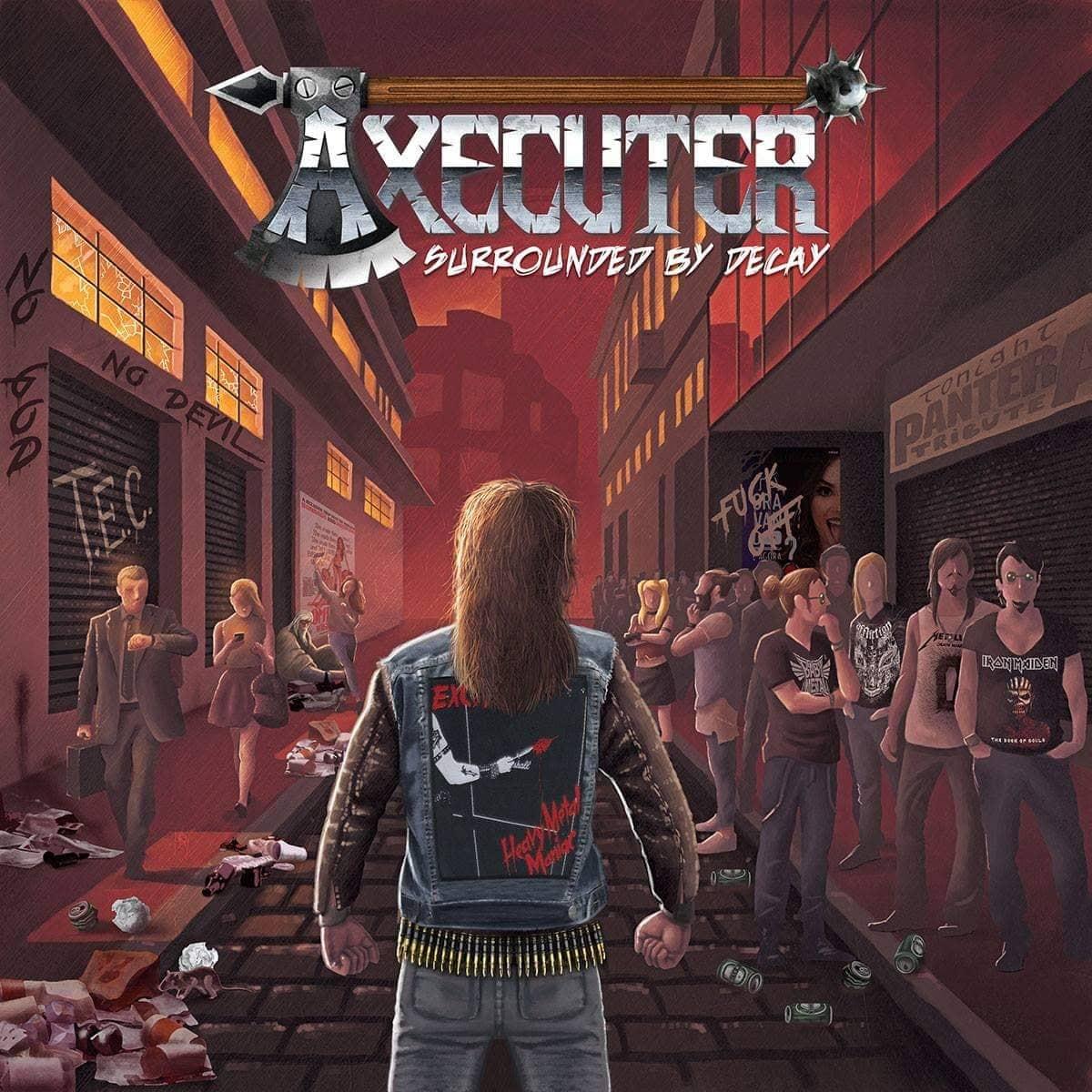 AXECUTER: Título, capa, 'preview' e pré-venda de novo álbum são liberados, confira!