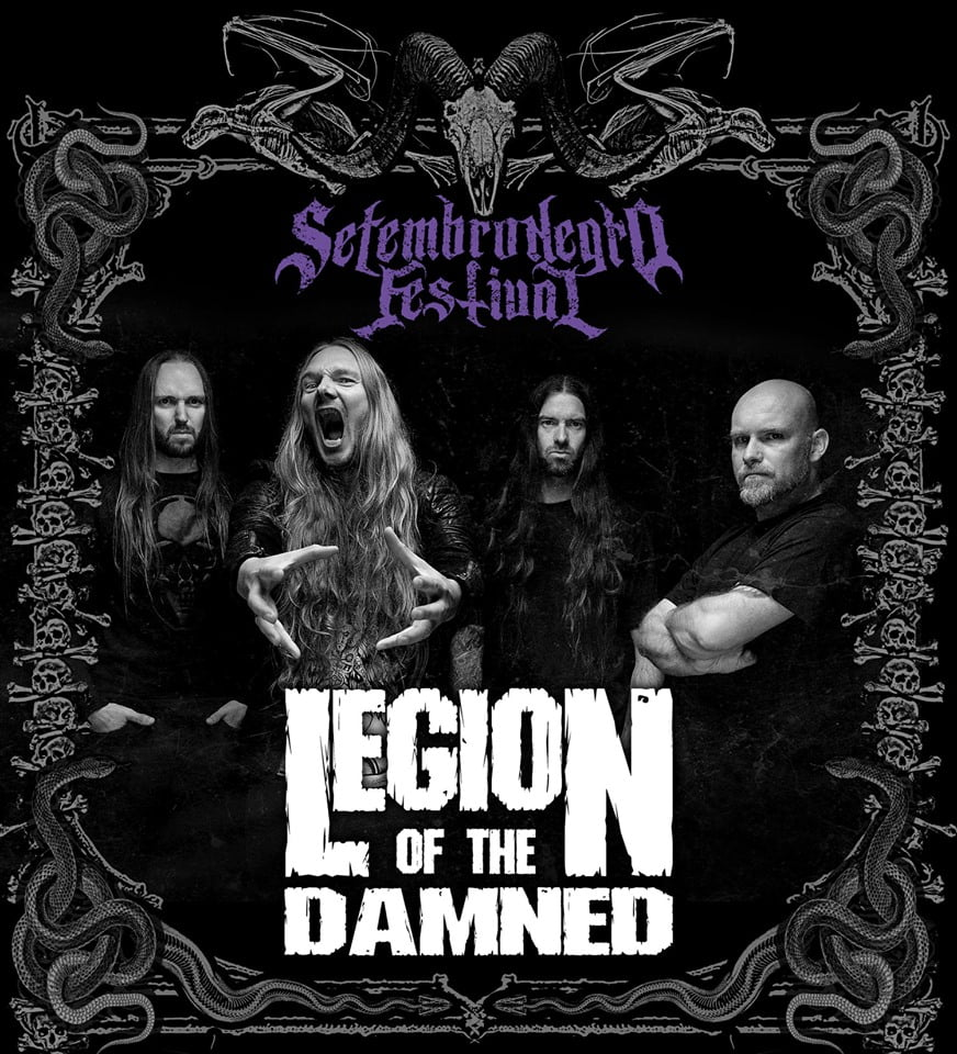 "Legion Of The Damned: Holandeses lançam ""Slaves Of The Shadow Realm"" no Setembro Negro 2019"