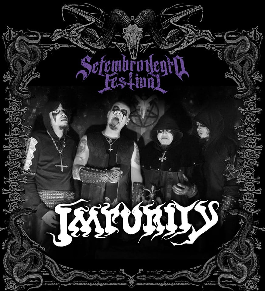 Impurity: Veterana banda de Black Metal de BH participa do Setembro Negro Fest 2019