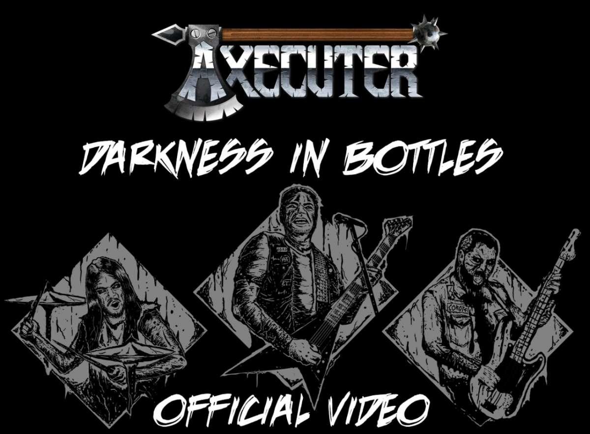"""AXECUTER: Assista agora ao videoclipe de """"Darkness In Bottles"""""""