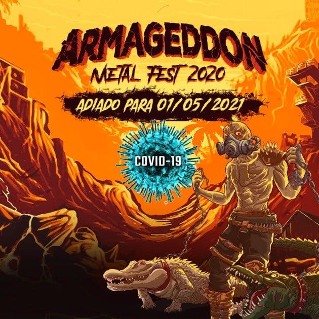 Armageddon Metal Fest é adiado para maio de 2021