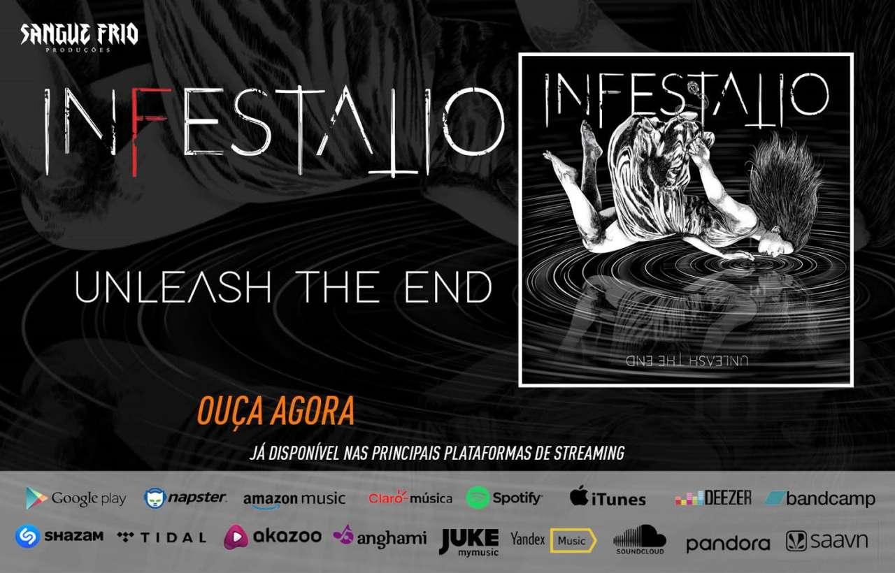 "INFESTATIO: Banda lança debut álbum ""Unleash The End"", ouça agora!"