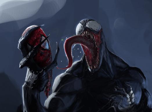 venom with spideys head 675x385 a6jc 1