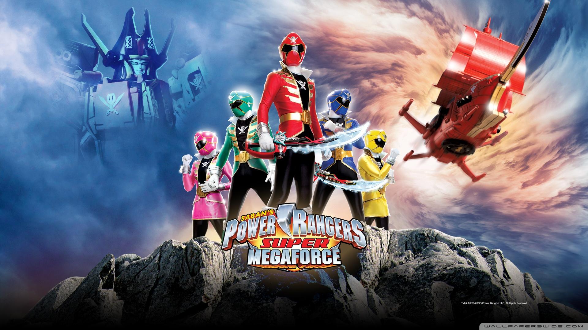 sabans power rangers super megaforce wallpaper