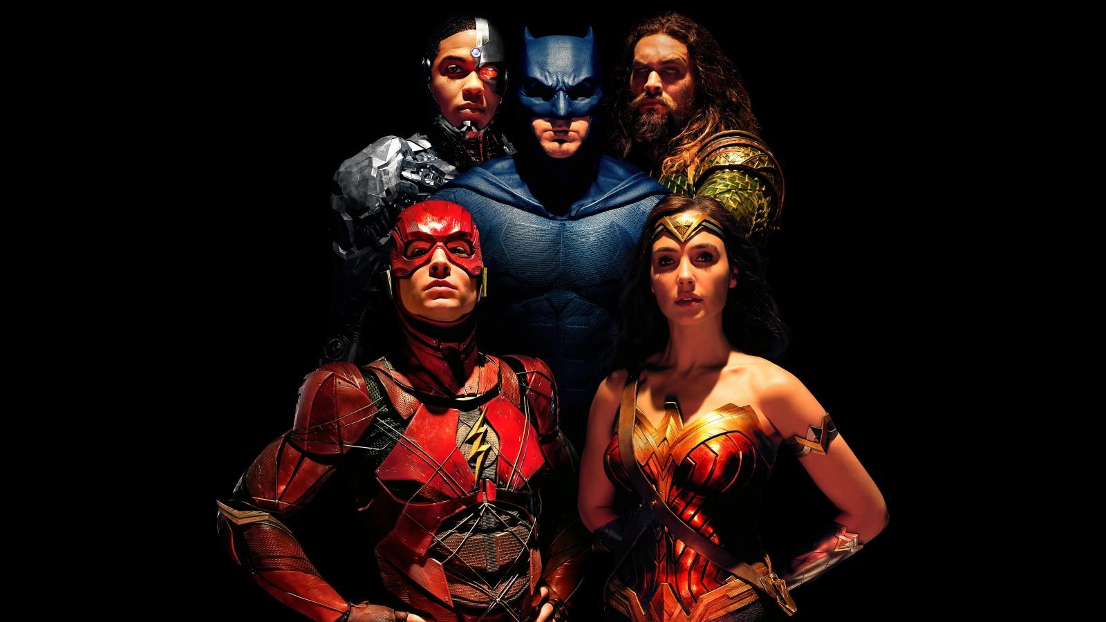 justice league 1600x900 wonder woman aquaman the flash batman cyborg 9655