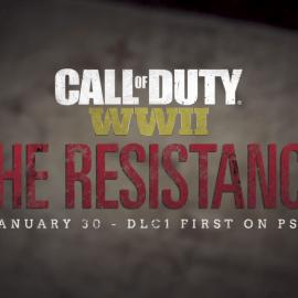 Primeiro DLC de CALL OF DUTY: WWII, A Resistência se ergue hoje