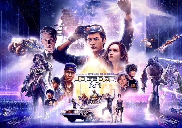 Jogador Nº1 Filme ganha novas artes focadas nos personagens