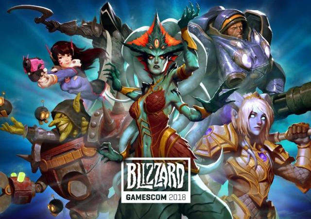 14453 blizzard at gamescom 2018 key art and wow streamer schedule