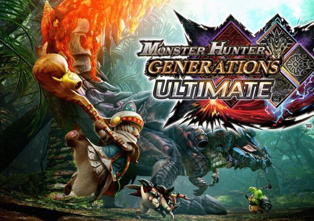 monster hunter generations ultimate art