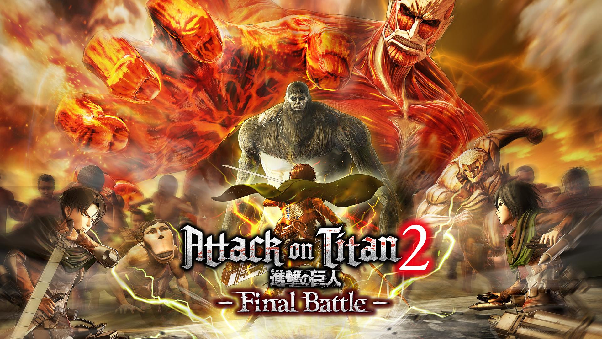 Koei Tecmo Attack on Titan 2 Final Battle Keyart