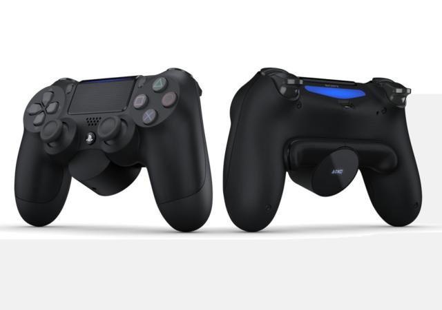 playstations new back button attachment adds more controls to the back of the dualshock