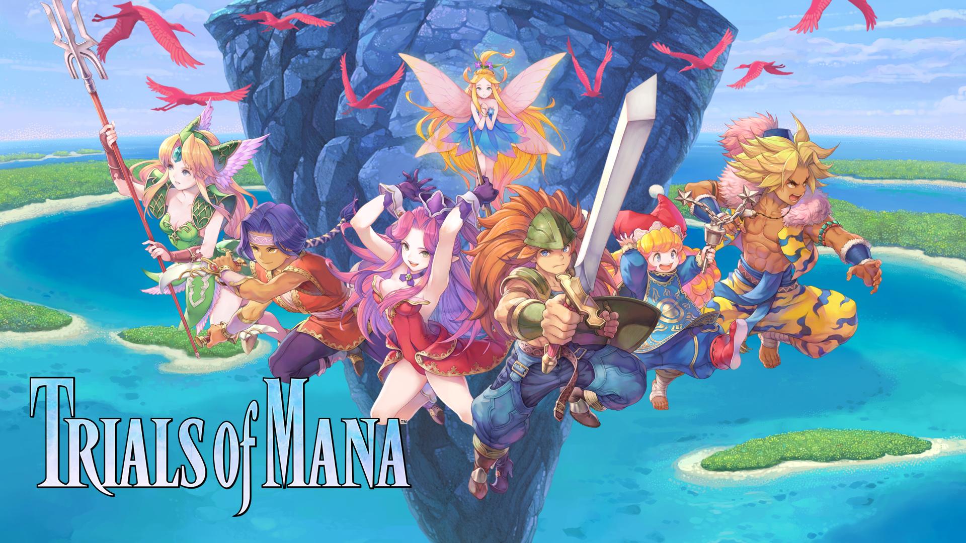 Square Enix Trials of Mana Keyart