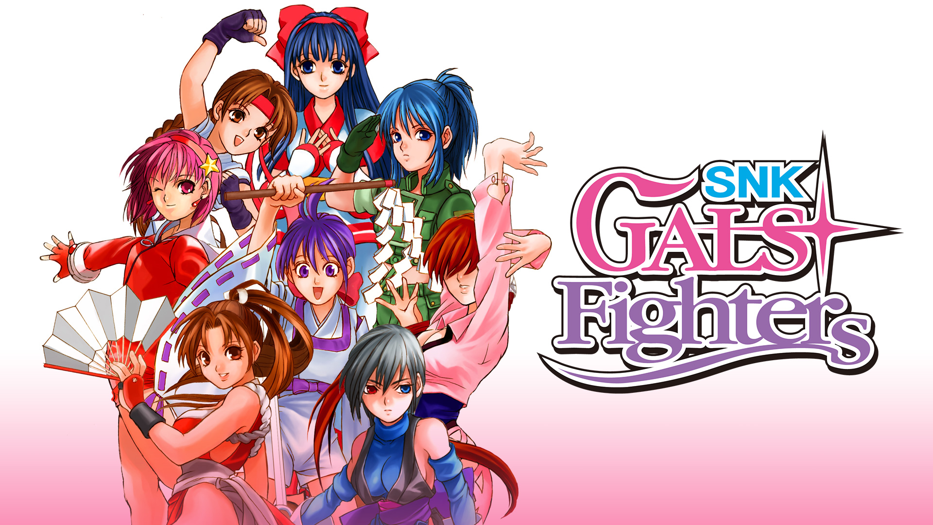 SNK Gals Fighters Topo Banner