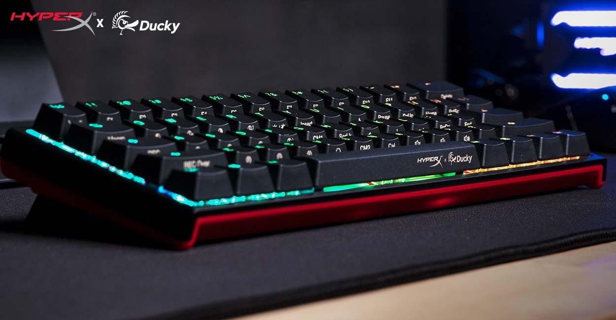 hyperx x ducky one 2 mini mechanical gaming keyboard