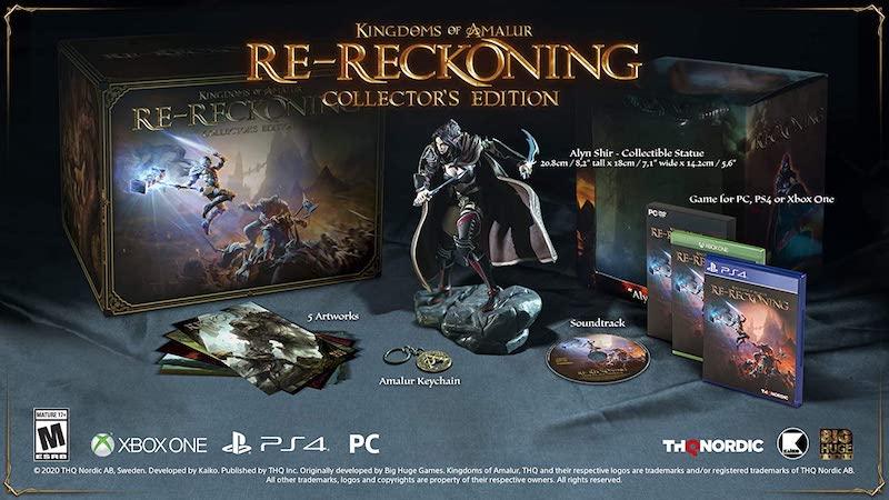 kingdoms of amalur re reckoning collectors edition