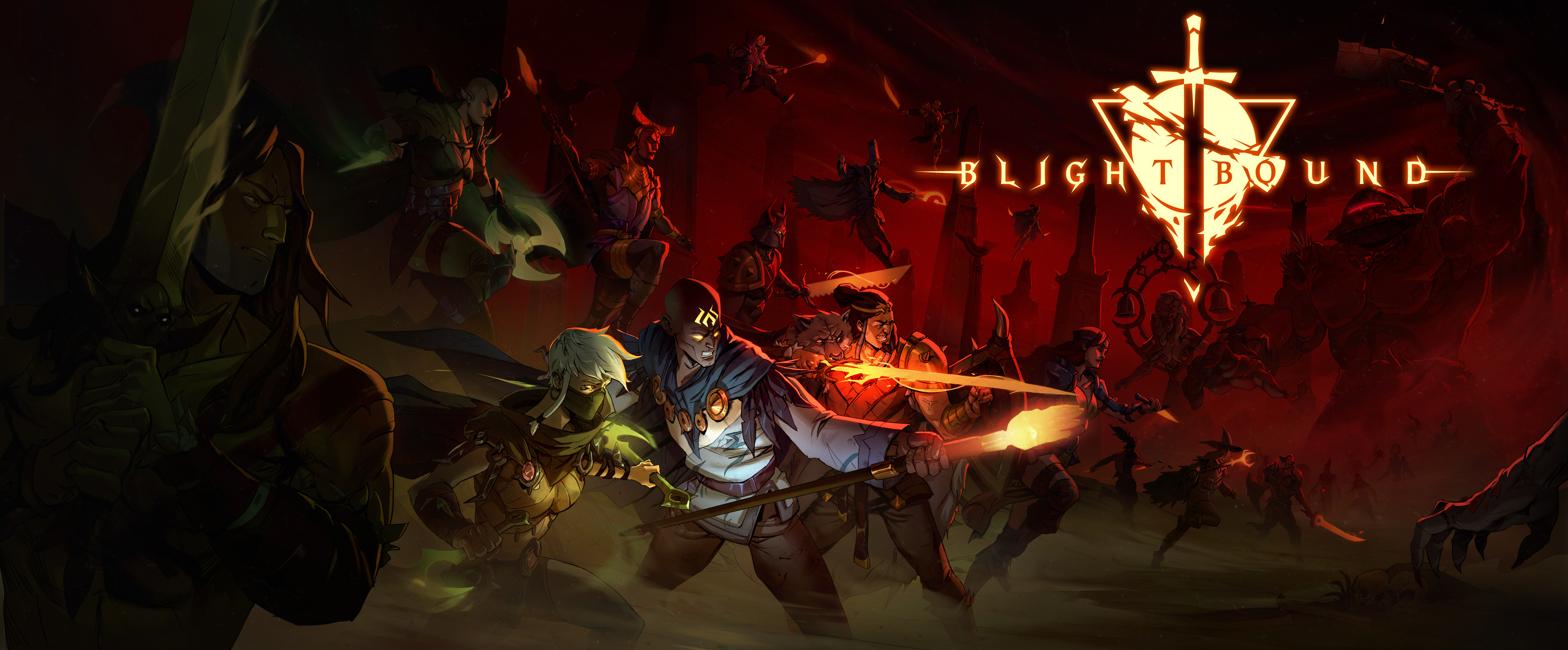 Blightbound Key Art