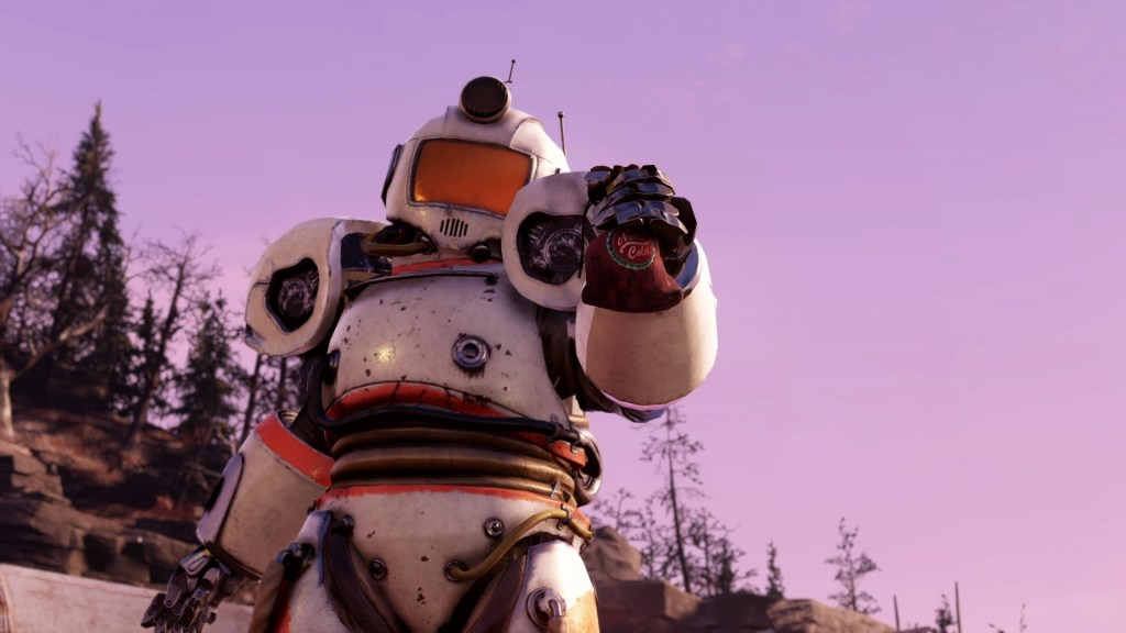 FO76 Summer Updates Captain Cosmos Power Armor