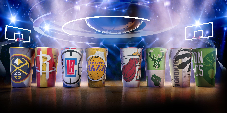 Coleção Copos NBA Semifinals