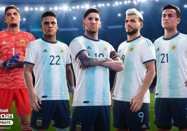 PES 2021 argentina