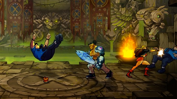 screenshot SOR4 DLC 1