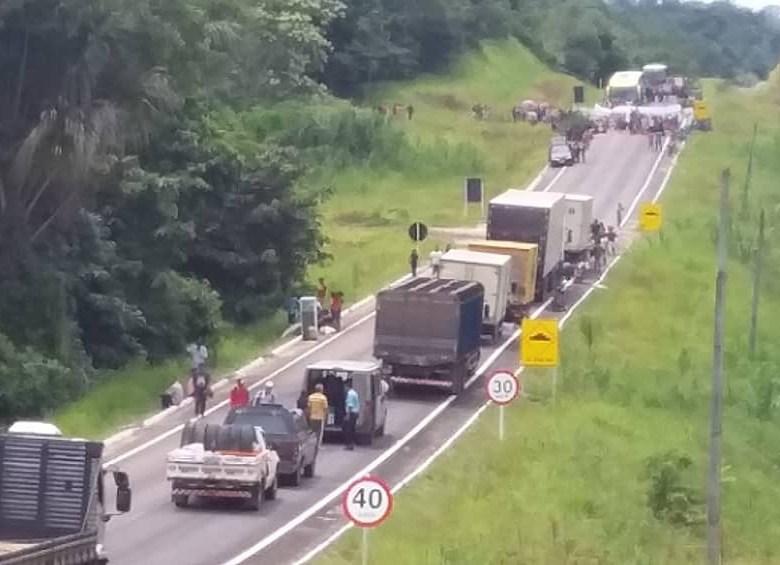 Índios fecharam BR-364; contra governo Bolsonaro