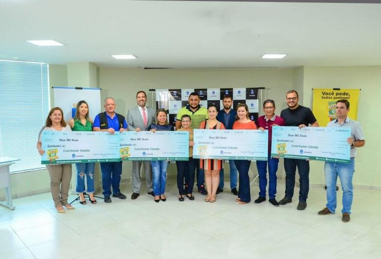 Prefeitura de Rio Branco realiza premiação etapa do programa Nota Premiada