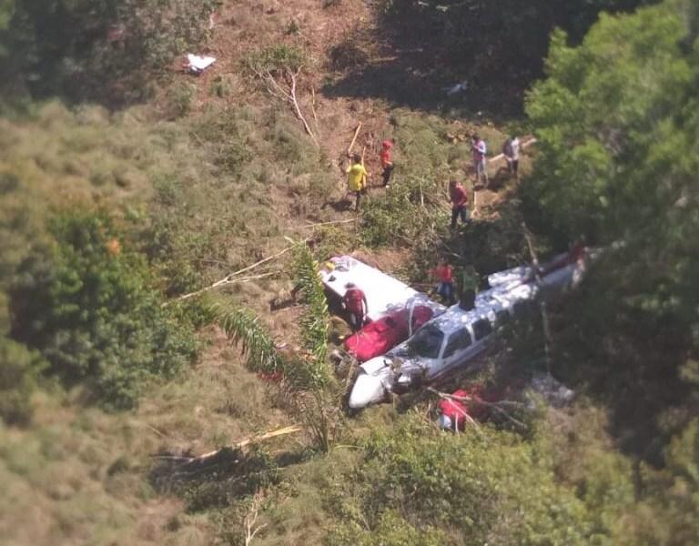 Vítimas de queda de avião em Autazes são transferidas para Manaus