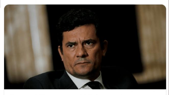 Site porta-voz de Moro pede coragem a Bolsonaro para demitir ministro, em vez de constrangê-lo publicamente