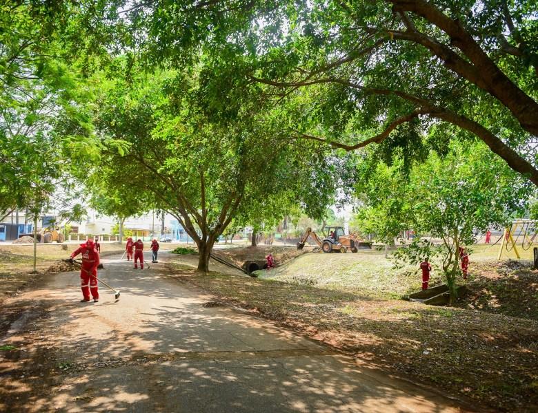 Socorro Neri chama a responsabilidade para si e vai cuidar dos parque do Tucumã e Maternidade, que são responsabilidades do Estado