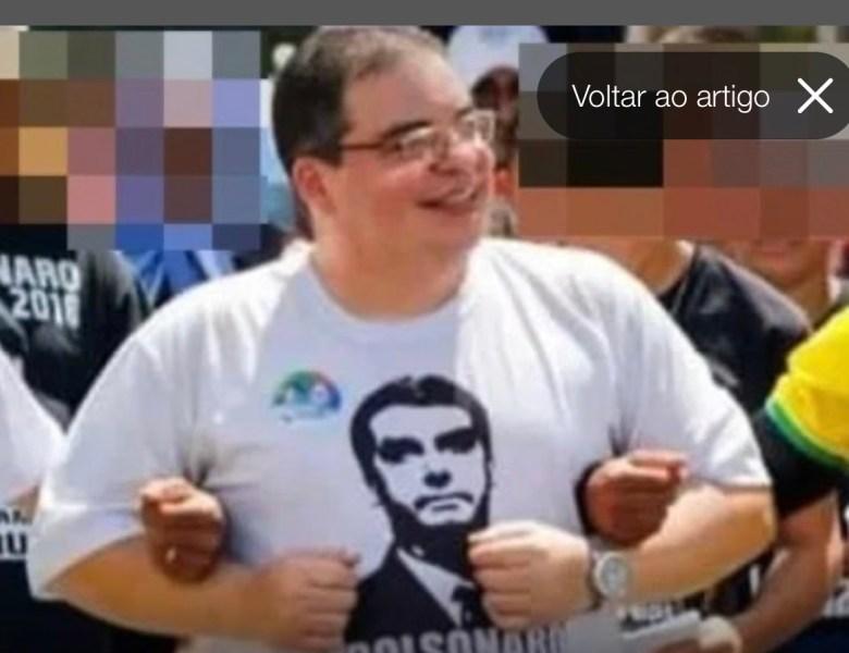 Bolsonarista presidente da Associação dos Conservadores é condenado por crime sexual contra menina de 10 anos.