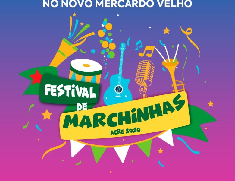 I Festival de Marchinhas é domingo no Novo Mercado Velho
