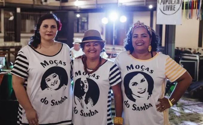 Moças do Samba no Beco sem saída