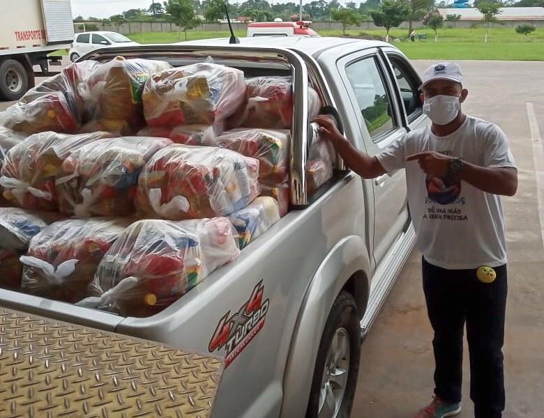 Projeto apoiado pelo TJAC realiza mais doações de cestas básicas durante pandemia