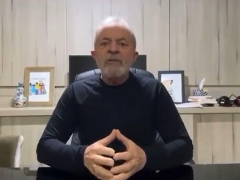 Ex-presidente Lula grava video para homenagear Lhé Farhat