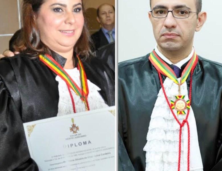 Desembargadores Waldirene Cordeiro e Roberto Barros são aclamados presidente e vice-presidente do TJ, respectivamente
