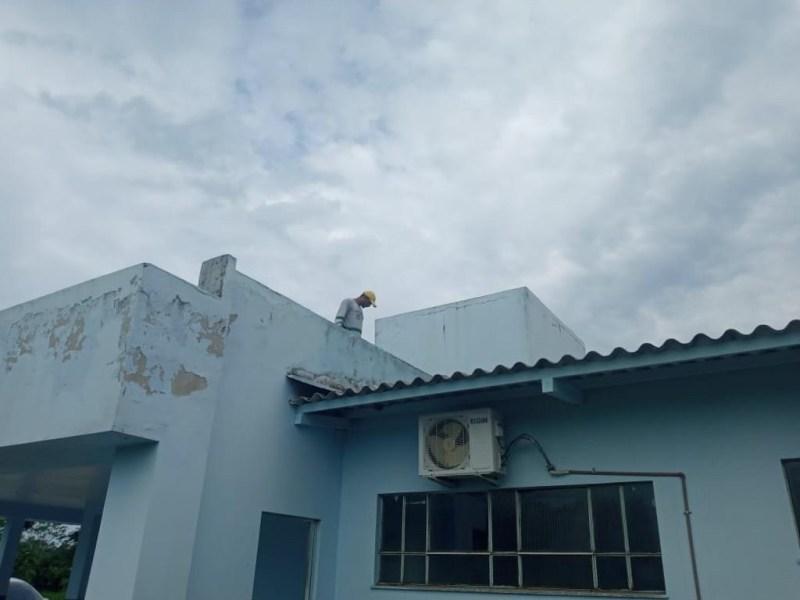 FCCV realiza serviços de manutenção na UBS Arito Rosas, no bairro Miritizal