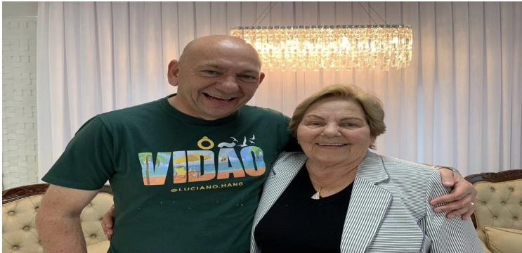 Mãe de Luciano Hang, da Havan, morre após contrair Covid-19