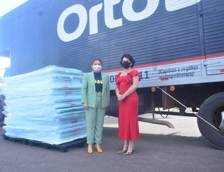 TJAC recebe 400 dois mil colchonetes doados para a campanha SOS Acre