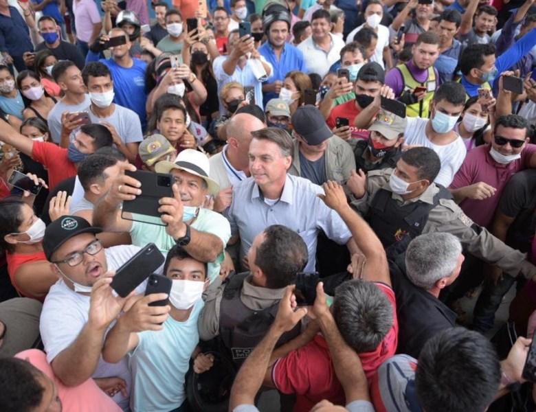 A conta chegou: Sena Madureira ver aumento de casos de Covid após a visita de Bolsonaro