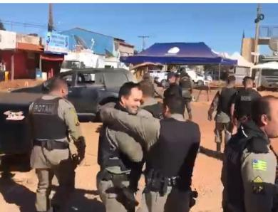 VÍDEO: Policiais comemoram a morte de Lázaro Barbosa