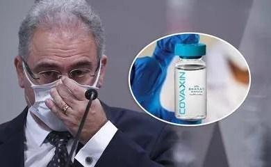 Sob pressão, Ministério da Saúde decide suspender contrato de compra da Covaxin