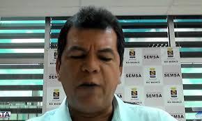 Frank Lima perdeu a condição de permanecer como secretário de Saúde de Rio Branco