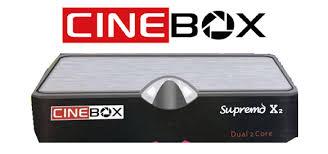 ATUALIZAÇÃO NOVA CINEBOX SUPREMO X2